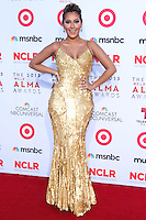 PASADENA, CA - SEPTEMBER 27: Actress/Singer Adrienne Bailon arrives at the 2013 NCLR ALMA Awards held at Pasadena Civic Auditorium on September 27, 2013 in Pasadena, California. (Photo by Xavier Collin/Celebrity Monitor)
