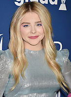 BEVERLY HILLS, CA - APRIL 12: Actress Chloe Grace Moretz attends the 29th Annual GLAAD Media Awards at The Beverly Hilton Hotel on April 12, 2018 in Beverly Hills, California.<br /> CAP/ROT/TM<br /> &copy;TM/ROT/Capital Pictures