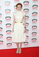 Eleanor Tomlinson at The Jameson Empire Film Awards 2014 - Arrivals, London. 30/03/2014 Picture by: Henry Harris / Featureflash