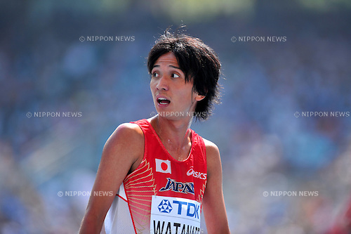 Kazuya Watanabe (JPN),SEPTEMBER 1, 2011 - Athletics :The 13th IAAF World Championships in Athletics - Daegu 2011, Men's 5000m Round 1 at the Daegu Stadium, Daegu, South Korea. (Photo by Jun Tsukida/AFLO SPORT) [0003]