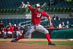 12 March 2014: Washington Nationals pitcher Craig Stammen on the mound during a Spring Training game against the Houston Astros at Osceola County Stadium in Kissimmee, Florida. The Astros rallied in the bottom of the 9th to edge out the Nationals 10-9 in Grapefruit League play. Mandatory Credit: Ed Wolfstein Photo *** RAW (NEF) Image File Available ***