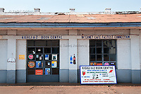 Internet cafe and bookstore in Kigali, Rwanda. August 9 2010 (Photo by Tadej Znidarcic)