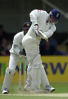 31/05/2002.Sport -Cricket - 2nd NPower Test -Second Day.England vs Sri Lanka.Mark Butcher [Mandatory Credit Peter Spurrier:Intersport Images]