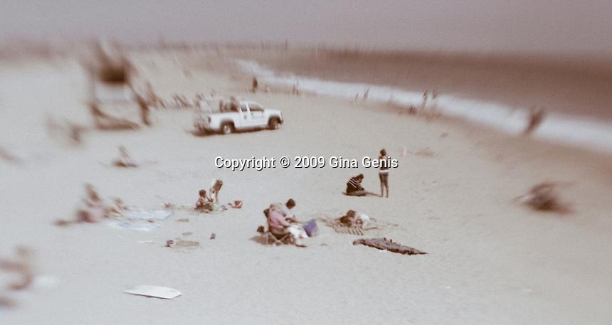 June Gloom - California Beaches and Piers