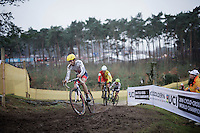 Ian Field (GBR/Hargroves Cycles)<br /> <br /> Men's Elite Race<br /> <br /> UCI 2016 cyclocross World Championships,<br /> Zolder, Belgium