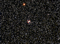 little dumbell nebula, m 76, planetary nebula