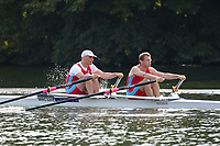 Race: 128  MasD.2x  Semi-Final<br /> 65  Tyne Amateur Rowing Club<br /> 69  Wallingford Rowing Club<br /> <br /> Henley Masters Regatta 2018 - Friday<br /> <br /> To purchase this photo, or to see pricing information for Prints and Downloads, click the blue 'Add to Cart' button at the top-right of the page.