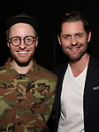 Matt Gould and Michael McCorry Rose attends The Dramatists Guild Foundation Salon with Matt Gould on March 12, 2018 at StellarTower in New York City.