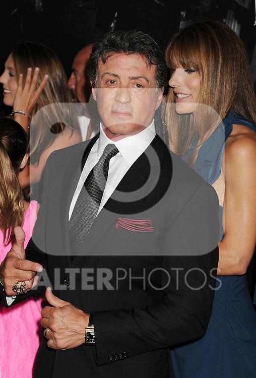 HOLLYWOOD, CA - AUGUST 15: Sylvester Stallone  arrives at the 'The Expendables 2' - Los Angeles Premiere at Grauman's Chinese Theatre on August 15, 2012 in Hollywood, California. /NortePhoto.com....**CREDITO*OBLIGATORIO** ..*No*Venta*A*Terceros*..*No*Sale*So*third*..*** No Se Permite Hacer Archivo**..*No*Sale*So*third*