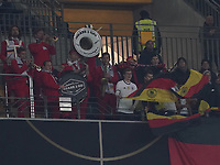 Brass 2 Go sorgt für Stimmung auf den leeren Plätzen - 19.11.2019: Deutschland vs. Nordirland, Commerzbank Arena Frankfurt, EM-Qualifikation DISCLAIMER: DFB regulations prohibit any use of photographs as image sequences and/or quasi-video.