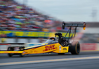 Mar 16, 2019; Gainesville, FL, USA; NHRA top fuel driver Richie Crampton during qualifying for the Gatornationals at Gainesville Raceway. Mandatory Credit: Mark J. Rebilas-USA TODAY Sports