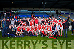 Rathmore team celebrate after lifting the O'Donoghue cup against  Legion in the East Kerry final on Sunday