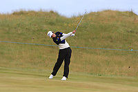 Phachara Khongwatmai (THA) on the 2nd fairway during Round 1 of the Dubai Duty Free Irish Open at Ballyliffin Golf Club, Donegal on Thursday 5th July 2018.<br /> Picture:  Thos Caffrey / Golffile