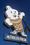 Foster's Freeze sign on La Brea in Hollywood