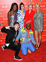 AJ Odudu, Jessie J, Emma Willis, Pixie Lott, Danny Jones and will.i.am attend photocall to launch The Voice Kids, new ITV series of the children's talent show, at The RSA, London on June 06, 2019.<br /> CAP/JOR<br /> ©JOR/Capital Pictures