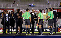dignitaries, referees. The United States defeated Canada, 3-0, during the final game of the CONCACAF Men's Under 17 Championship at Catherine Hall Stadium in Montego Bay, Jamaica.