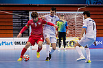 Tajikistan vs Uzbekistan during the AFC Futsal Championship Chinese Taipei 2018 Group Stage match at University of Taipei Gymnasium on 03 February 2018, in Taipei, Taiwan. Photo by Yu Chun Christopher Wong / Power Sport Images