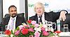 Boris Johnson <br /> Mayor of London <br /> visits Lycamobile Global HQ in Docklands, London, Great Britain <br /> 21st July 2011 <br /> <br /> <br /> <br /> Subaskaram Allirajah (Group Chairman)<br /> <br /> Boris Johnson <br /> London Mayor<br /> <br /> <br /> Photograph by Elliott Franks
