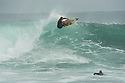 Unknown surfer at South Pt in Gracetown near Margaret River, Western Australia.