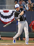 McQueen grad Kody Reynolds competes in the Triple-A All Star Home Run Derby in Reno, Nev., on Monday, July 15, 2013. Reynolds advanced to the second round, hitting a total of five homers in the event. <br /> Photo by Cathleen Allison