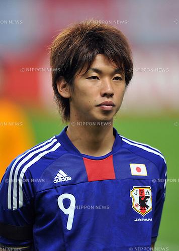 Yuya Osako (JPN), AUGUST 10, 2011 - Football / Soccer : International friendly match,  between U-22 Japan 2-1 U-22 Egypt at Sapporo Dome, Hokkaido, Japan. (Photo by Atsushi Tomura/AFLO SPORT) [1035]