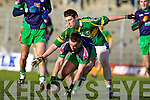 Paul Geaney Kerry v Paddy Dalton  Limerick Institute Technology in the Quarter Final of the McGrath Cup at Austin Stack Park, Tralee on Sunday 16th January.