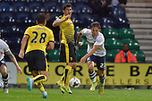 25/08/2015 Capital One Cup, Second Round Preston North End v Watford<br /> Josh Brownhill