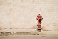 Red firehydrant, Shanghai, China