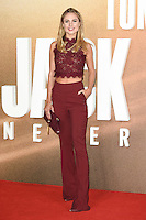 LONDON, UK. October 20, 2016: Kimberley Garner at the premiere of &quot;Jack Reacher: Never Go Back&quot; at the Cineworld Empire Leicester Square, London.<br /> Picture: Steve Vas/Featureflash/SilverHub 0208 004 5359/ 07711 972644 Editors@silverhubmedia.com