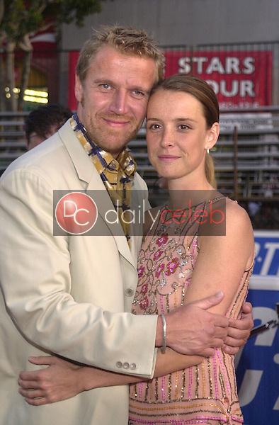 Renny Harlin and Sarah
