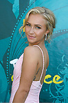 UNIVERSAL CITY, CA. - August 09: Actress Hayden Panettiere arrives at the Teen Choice Awards 2009 held at the Gibson Amphitheatre on August 9, 2009 in Universal City, California.