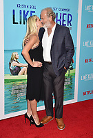 HOLLYWOOD, CA - JULY 31: Kelsey Grammer (R) and Kayte Walsh arrive at the Premiere Of Netflix's 'Like Father' at ArcLight Hollywood on July 31, 2018 in Hollywood, California.<br /> CAP/ROT/TM<br /> &copy;TM/ROT/Capital Pictures
