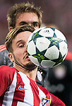 Saul Niguez of Atletico Madrid in action during their 2016-17 UEFA Champions League match between Atletico Madrid vs FC Bayern Munich at the Vicente Calderon Stadium on 28 September 2016 in Madrid, Spain. Photo by Diego Gonzalez Souto / Power Sport Images