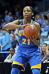 16 November 2014: UCLA's Nirra Fields (CAN). The University of North Carolina Tar Heels hosted the University of California Los Angeles Bruins at Carmichael Arena in Chapel Hill, North Carolina in a 2014-15 NCAA Division I Women's Basketball game. UNC won the game 84-68.