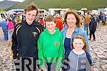 Darragh Casey with Liam, Ann and Roisin Smith (all Glenbeigh) pictured at Glenbeigh races on Sunday last.