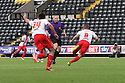 James Dunne of Stevenage scores the winner nd celebrates<br />  - Notts County v Stevenage - Sky Bet League One - Meadow Lane, Nottingham - 24th August 2013<br /> © Kevin Coleman 2013