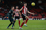 John Egan of Sheffield United during the Premier League match at Bramall Lane, Sheffield. Picture date: 5th December 2019. Picture credit should read: James Wilson/Sportimage