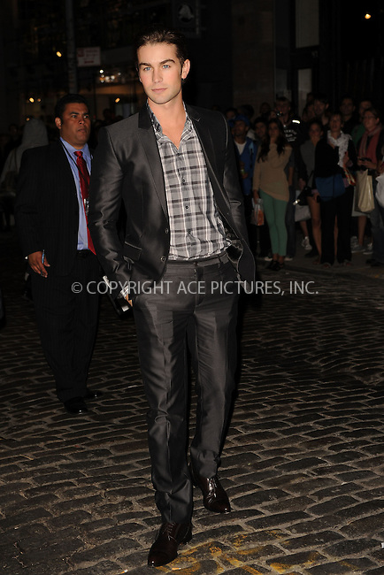WWW.ACEPIXS.COM . . . . . .September 09, 2010, New York City.... Chase Crawford attends the opening of the Chanel Soho Boutique on September 09, 2010 in New York City....Please byline: KRISTIN CALLAHAN - ACEPIXS.COM.. . . . . . ..Ace Pictures, Inc: ..tel: (212) 243 8787 or (646) 769 0430..e-mail: info@acepixs.com..web: http://www.acepixs.com .
