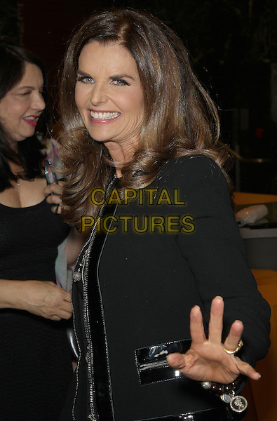 10 March 2014 - Los Angeles, California - Maria Shriver. &quot;Paycheck To Paycheck: The Life and Times of Katrina Gilbert&quot; presented by HBO Documentary Films and Maria Shriver held at the Linwood Dunn Theatre. <br /> CAP/ADM/FS<br /> &copy;Faye Sadou/AdMedia/Capital Pictures
