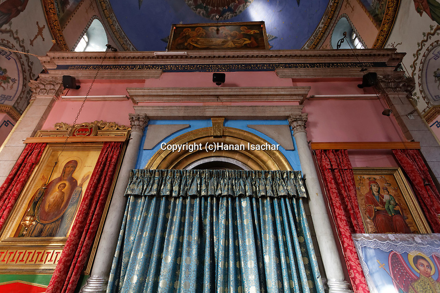 Israel, the Ethiopian Orthodox Church (Debra Gannet) in West Jerusalem