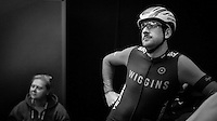 Sir Bradley Wiggins (GBR/Wiggins) waiting to enter the velodrome<br /> <br /> Ciao Fabian<br /> <br /> Farewell event in 't Kuipke in Gent/Belgium for Fabian Cancellara after retiring for pro racing (november 2016)