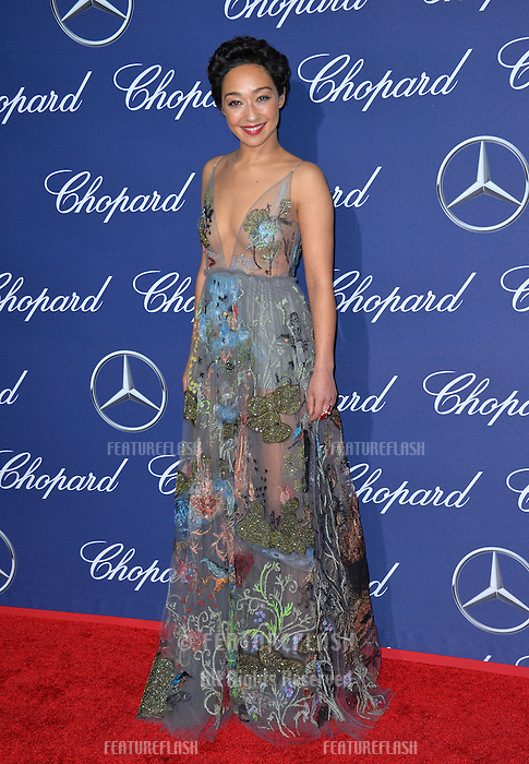 Actress Ruth Negga at the 2017 Palm Springs Film Festival Awards Gala. January 2, 2017<br /> Picture: Paul Smith/Featureflash/SilverHub 0208 004 5359/ 07711 972644 Editors@silverhubmedia.com