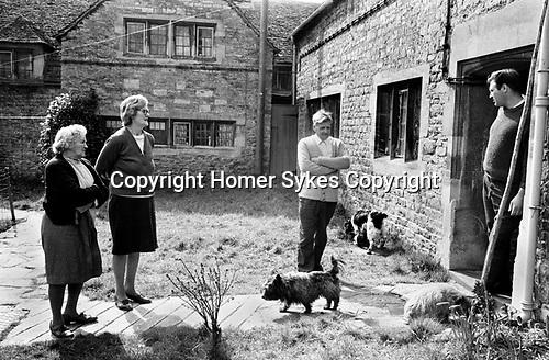Upper Slaughter Gloucestershire 1970s UK