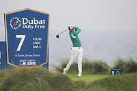 Matt Wallace (ENG) on the 7th tee during Round 2 of the Irish Open at LaHinch Golf Club, LaHinch, Co. Clare on Friday 5th July 2019.<br /> Picture:  Thos Caffrey / Golffile<br /> <br /> All photos usage must carry mandatory copyright credit (© Golffile | Thos Caffrey)