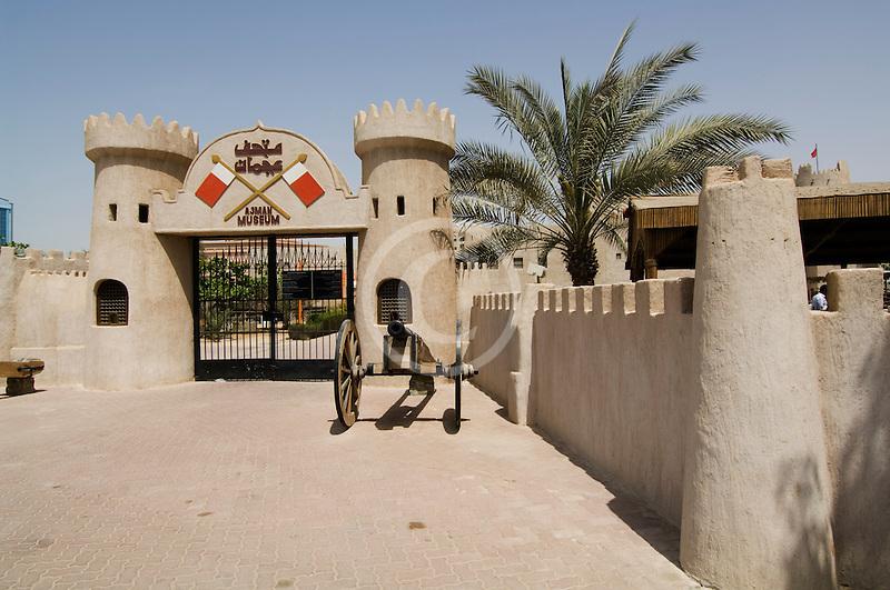 United Arab Emirates, Ajman, Ajman fort
