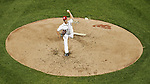 12 October 2012: Washington Nationals pitcher Gio Gonzalez on the mound during Postseason Playoff Game 5 of the National League Divisional Series against the St. Louis Cardinals at Nationals Park in Washington, DC. The Cardinals rallied with four runs in the 9th inning to defeat the Nationals 9-7; thus winning the NLDS and moving on to the NL Championship Series. Mandatory Credit: Ed Wolfstein Photo