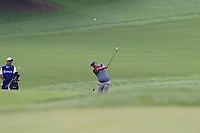 Jason Dufner (USA) plays into the 15th green during Friday's Round 2 of the 2017 PGA Championship held at Quail Hollow Golf Club, Charlotte, North Carolina, USA. 11th August 2017.<br /> Picture: Eoin Clarke | Golffile<br /> <br /> <br /> All photos usage must carry mandatory copyright credit (&copy; Golffile | Eoin Clarke)