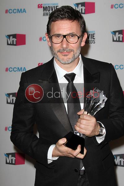 Michel Hazanavicius<br /> at the 17th Annual Critics' Choice Movie Awards, Palladium, Hollywood, CA  01-12-12<br /> David Edwards/DailyCeleb.com 818-249-4998
