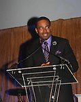 As The World Turns' Lamman Rucker is Master of Ceremonies at the 7th Annual Spirit of the Heart Awards - Dinner for the Association of Black Cardiologists and its ambassador honoring distinguished doctors on October 1, 2016 at Cipriani 42nd Street, New York City, New York. (Photo by Sue Coflin/Max Photos)