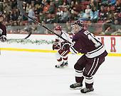 Sebastian Weberg (Colgate - 16) -  - The Harvard University Crimson defeated the visiting Colgate University Raiders 7-4 (EN) on Saturday, February 20, 2016, at Bright-Landry Hockey Center in Boston, Massachusetts.